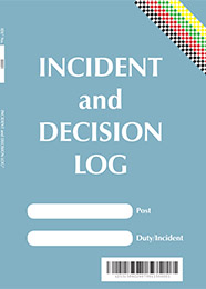 Incident & Decision Log Book IDL