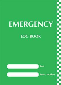 Emergency log book