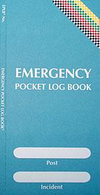 Emergency Pocket Log Book EPLB