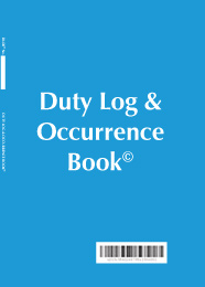Duty Log & Occurrence Book DLOB