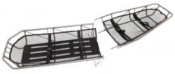 Military Type III S.S. Basket Stretcher Break-Apart Without Leg Divider Junkin (MIL-0452-W)