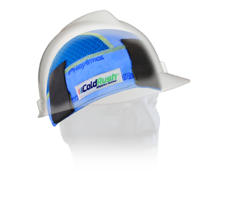 northrock safety coldrush hat insert blue cooling