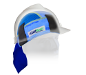 ColdRush Hard Hat Insert with Nomex Neckshade