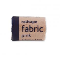 Fabric Pink Elastic Adhesive Bandage Relitape