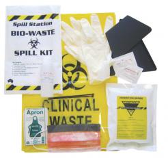 biohazard spillage kit