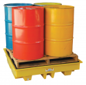 4 drum spill containment pallets