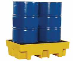 2 drum spill containment pallets