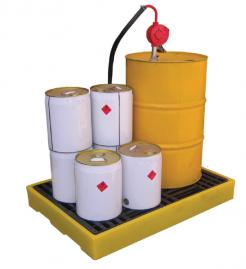 drum spill deck