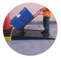 Large Spill Deck Ramp
