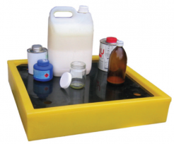 Northrock Safety Bench Top Spill Trays Laboratory Spill