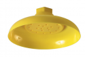 Yellow ABS Plastic Shower Rose