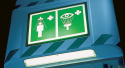 Tank Shower Lighting for Non-Hazardous Areas