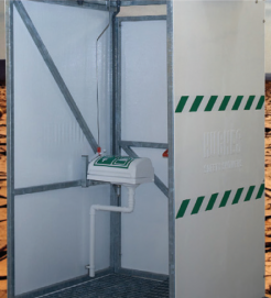 GRP Panels for Tank Shower Cubicles