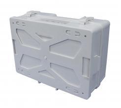 first aid box empty plastic