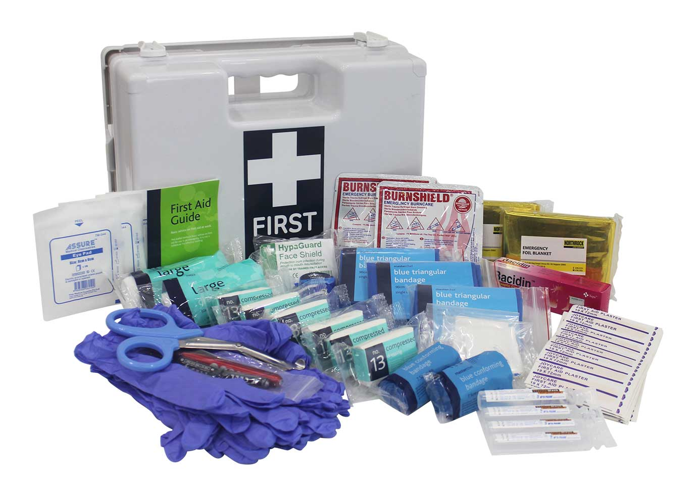 Northrock safety first aid kit for kitchen medium chef for First aid kits for restaurant kitchens