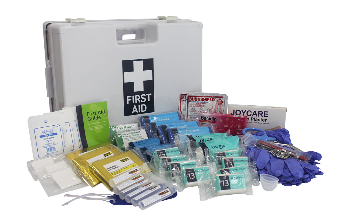 Northrock safety first aid kit for kitchen large for First aid kits for restaurant kitchens