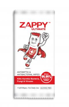 zappy boy antiseptic wipes