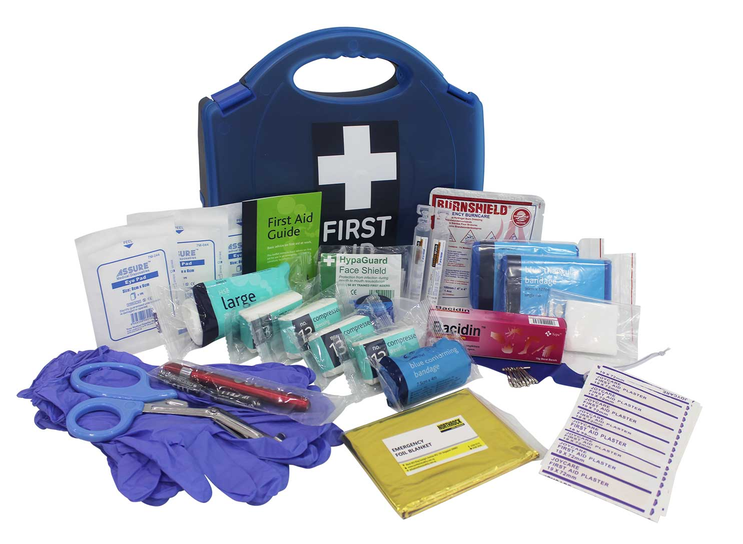 Northrock safety first aid kit for kitchen small for First aid kits for restaurant kitchens