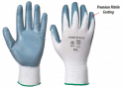 nitrile coated nylon work gloves