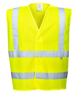 hi vis anti static flame resistant vest