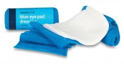 blue sterile eye pads