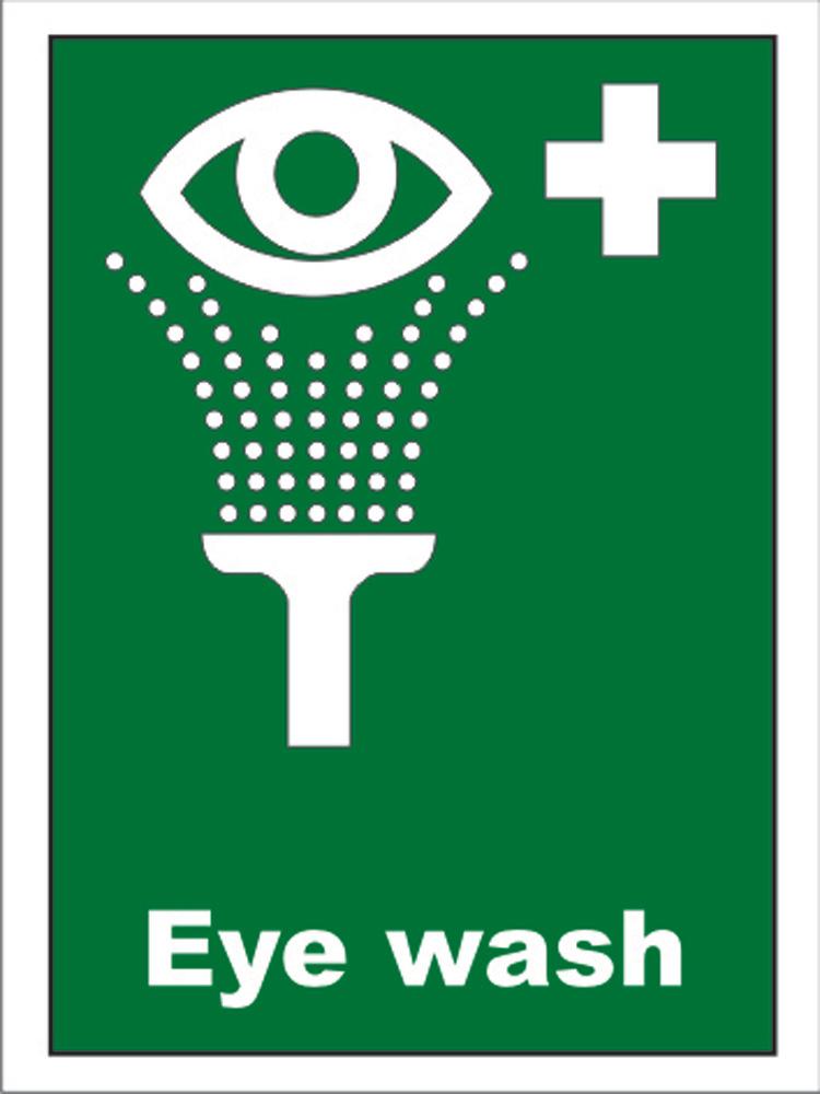 Northrock Safety Emergency Eyewash Sign Emergency