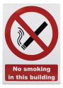 Sign 'No Smoking In This Building'