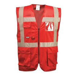 Iona Executive Vest Red