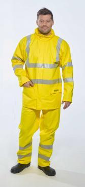 Flame resistant Hi Vis waterproof Trouser