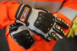 Anti Impact Cut Resistant 5 Glove - Nitrile