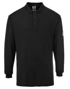 Flame Resistant Anti-Static Long Sleeve Polo Shirt singapore