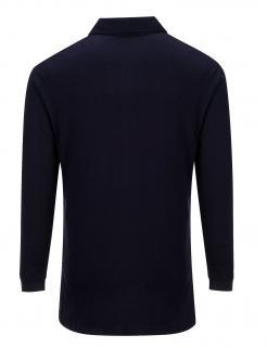 Flame Resistant Long Sleeve Polo Shirt