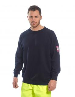 Flame Resistant Anti-Static Long Sleeve Sweatshirt