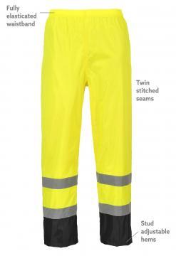 Hi-Vis Classic Contrast Rain Pants