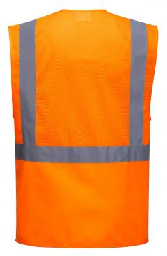 mesh safety vest with pockets singapore