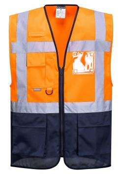 Warsaw Executive Vest Orange