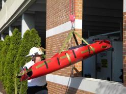 sked stretcher vertical lift