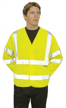 long sleeve safety vest