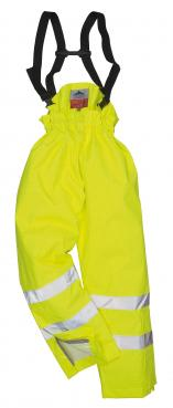 Bizflame Rain Unlined - Hi-Vis Antistatic FR Trousers