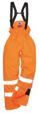 Bizflame Rain Unlined - Hi-Vis Antistatic FR Trousers Singapore