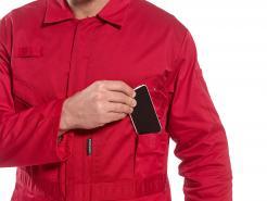 cotton coveralls zipper front singapore