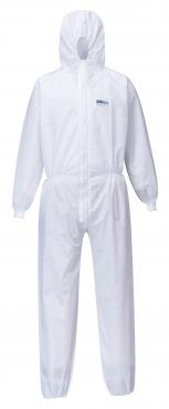 BizTex SMS Coverall With Knitted Cuff Type 5/6