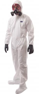 coverall with shoe cover