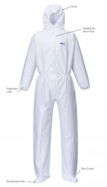 coverall with shoe cover singapore