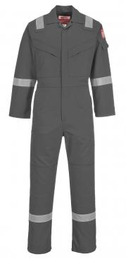 Grey Flame Resistant Coveralls