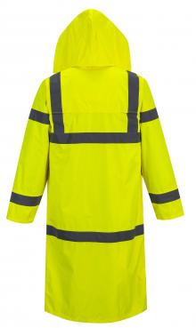 Yellow Hi-Vis Rain Coat