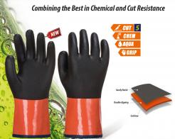 chemical and cut resistant gloves