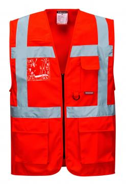 fluorescent vests with pockets