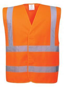 orange high visibility vest singapore