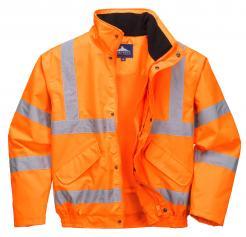 orange hi vis jacket